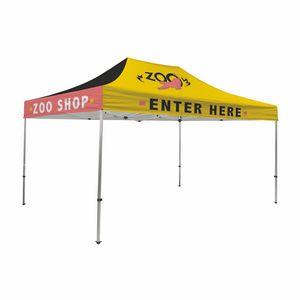 Custom Premium 10' x 15' Event Tent Kit (Full-Color Full Bleed/Dye-Sublimation)