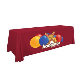 Custom 8' Standard Table Throw (Full-Color Thermal Imprint)