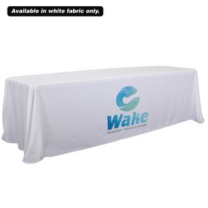 Custom 6'/8' Convertible Table Throw (Dye Sublimation, Front Only)