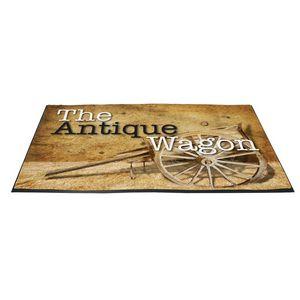 4 X 6 Floor Indoor Hugger Mat (Imprinted)