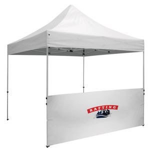 10 Foot Wide Tent Half Wall and Deluxe Stabilizer Bar Kit (Full-Color Thermal