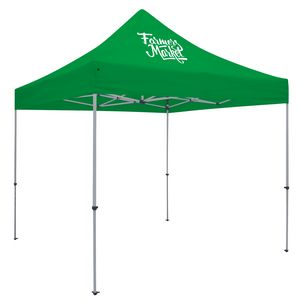 Custom Deluxe 10' Tent Kit (Full-Color Imprint, 1 Location)