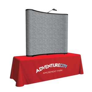 Custom 6' Show 'N Rise Curved Table Top Kit (Fabric)