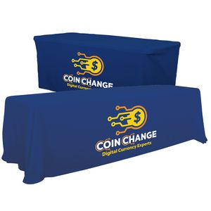 Custom 8' Convertible Table Throw (Full-Color Thermal Imprint)