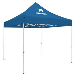 Custom Standard 10' x 10' Event Tent Kit (Full-Color Thermal Imprint/1 Location)