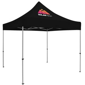 Custom Premium 10' x 10' Event Tent Kit (Full-Color Thermal Imprint/1 Location)