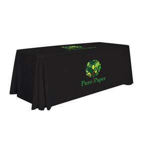 Custom 6' Standard Table Throw (Two Location Full-Color Thermal Imprint)