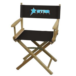 Custom Director Chair Table Height (Full-Color Thermal Imprint)