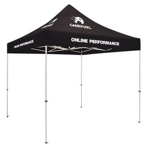 Custom Standard 10'x 10' Event Tent Kit (Full-Color Thermal Imprint/8 Location)