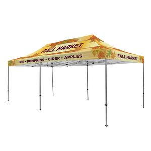 Custom Premium Aluminum 20' Tent Kit (Full-Bleed Dye Sublimation)