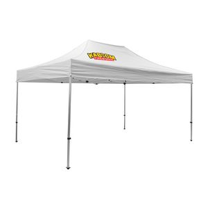 Custom Premium 10' x 15' Event Tent Kit (Full-Color Thermal Imprint/1 Location)