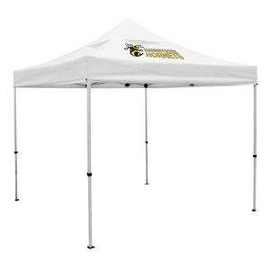 Custom Deluxe 10' x 10' Event Tent Kit w/Vented Canopy (Full-Color Thermal Imprint/1 Location)Soft Case w