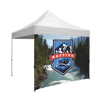 Custom 10 Foot Wide Tent Full Wall Only w/Zipper Ends (Full-Color Full Bleed/Dye-Sublimation)