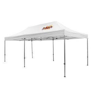 Custom Premium 10' x 20' Event Tent Kit (Full-Color Thermal Imprint/1 Location)