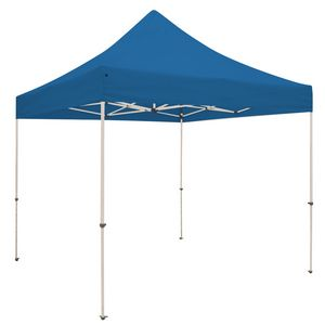 Custom Standard 10' x 10' Event Tent Kit (Unimprinted) Soft Case w/Wheels and Stake Kit
