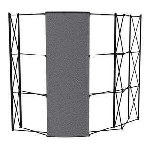 Custom Arise Fabric Back Panel