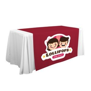 "57"" LazerLine Table Runner Full-Color Front Only"