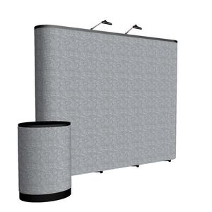 Custom 10' ARISE Straight Floor Kit (Fabric)