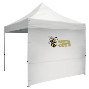 Custom 10 Foot Wide Tent Full Wall w/Zipper Ends (Full-Color Thermal Imprint)