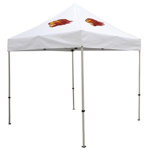 Custom Deluxe 8' x 8' Event Tent Kit (Full-Color Thermal Imprint/2 Locations)