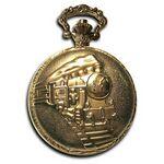 Custom Pocket Watch w/ Chain (Train)