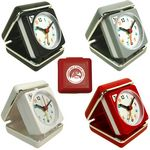 Custom Closable Folding Travel Alarm Clock with Snooze