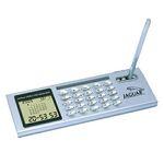 Custom Desk Top Calendar / Clock / Calculator with Pen Holder and Pen