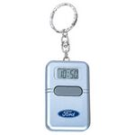 Custom Chrome Plated Key Ring W/ Talking Alarm Clock