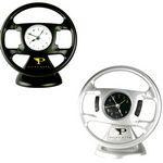 Custom Desktop Steering Wheel Shape Alarm Clock