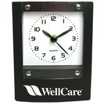 Custom Square Desktop Alarm Clock-BLACK
