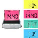 Custom Multi Function LCD Alarm Clock