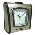 Custom Square Desktop Alarm Clock w/ Snooze and Light