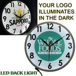 Custom Full Color Wall Clock with Full LED Back Light