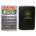 Custom Pocket Size 8-Digit Calculator w/ PVC Cover