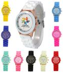 Custom Silicone Analog Wrist Watch