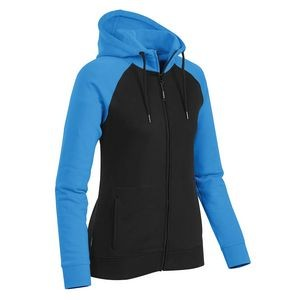 Women's Omega Two-Tone Zip Hoody