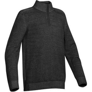 Men's Loden Long Sleeve Mock Neck Top