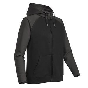 Men's Omega Two-Tone Zip Hoody