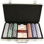 Custom 300 Piece Poker Chip Set in Aluminum Case