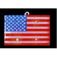 American Flag Flash Lapel Pin