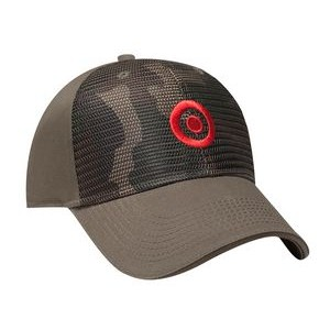 Huntington Structured Camo Front Cap