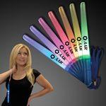 Custom Abracadabra Glittery Magician Light Up Stick w/ Wrist Strap - 5 Day