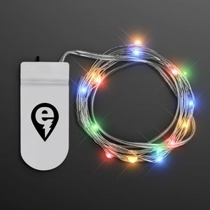 Imprinted Multicolor Craft String Lights