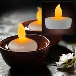 Custom Amber Water Activated Floating Candle Flickering Light