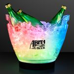 Custom Rechargeable LED Large Ice Buckets w/ Remote