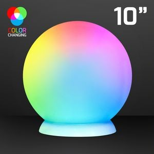 "10"" Floating LED Ball w/ Charger & Remote"