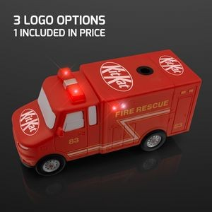 Light Up Fire Truck Electric Pencil Sharpener