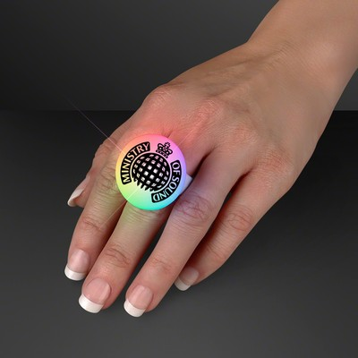 Imprinted Color Changing LED Mood Ring