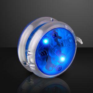 Custom Flashing Blue Yo Yo Light Up Toy