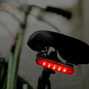 Custom Red LED Tail Light for Bikes